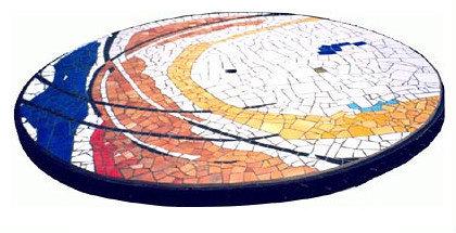 Table en mosaïque I
