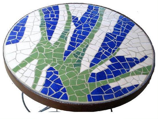 Table en mosaïque II